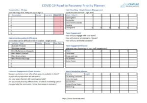 COVID-19 Road to Recovery